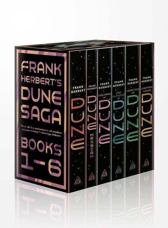 Boek cover Dune 6 Copy Box Set van Frank Herbert (Paperback)
