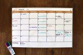 Whiteboard Maandplanner
