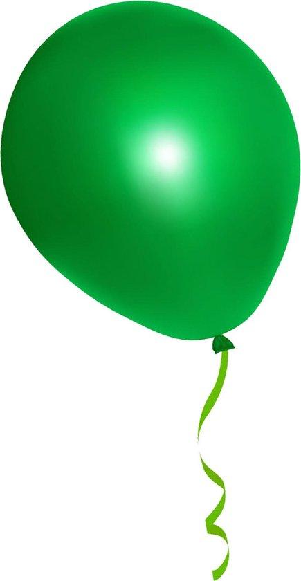 500 stuks groene ballonnen - decoratie - latex - helium - feest - groen - ballon