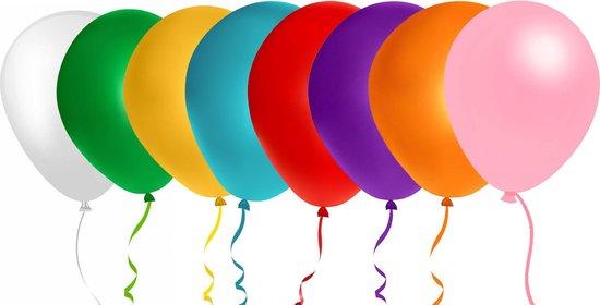 500 stuks diverse mix kleuren ballonnen - decoratie - latex - helium - feest - verschillende - ballon