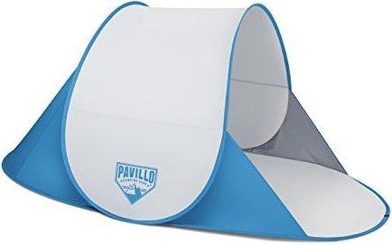 Bestway- Strandmuschel Pop-Up Secura strandtent parasolsysteem, kleur grijs, 192 x 120 x 85 cm (8321205)