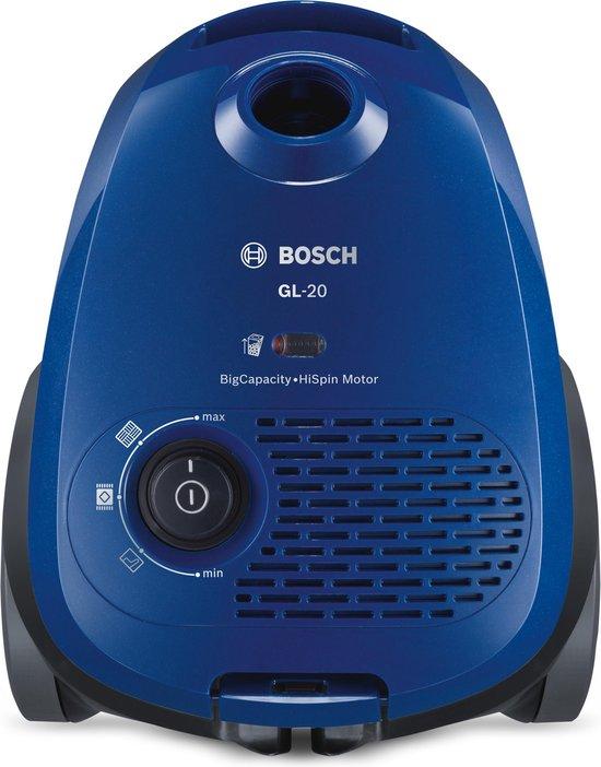 BOSCH BSG6B110 BLAUW 700 WATT stofzuiger met stofzak