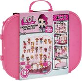 L.O.L. Surprise Fashion Show Carrying Case Bright Pink