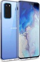 Samsung S20 Hoesje Transparant - Samsung Galaxy S20 Hoesje Transparant Siliconen Case Hoes Cover