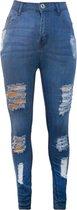 Blush HIGH WAIST Dames Jeans EU42