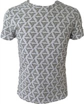 ASSASSINS CREED - T-Shirt All over printe abstergo logo (XL)