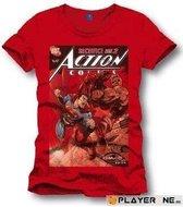 SUPERMAN - T-Shirt Sacrifice - Red (L)