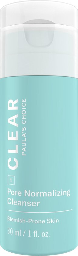 Paula's Choice Clear Gel Gezichtsreiniger - Huid met Acne - 30 ml