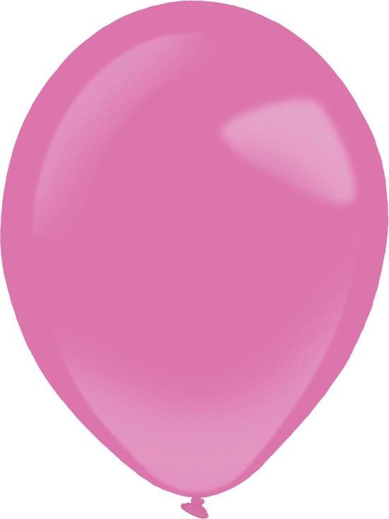 Amscan Ballonnen 28 Cm Latex Fuchsia 50 Stuks