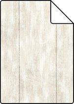 ESTAhome A4 staal van behang sloophout beige - 128008 - 21 x 26 cm