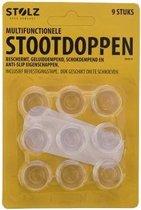 Stootdoppen xl - 9 stuks - incl. bevestigingstape -