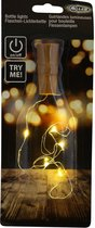 Kurk van kunststof  met LED lichtsnoer voor in wijnfles Flessenverlichting - Flessen verlichting/lichtjes/led lampjes warm wit