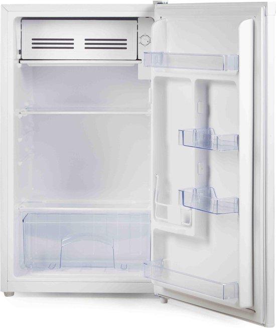 Koelkast: Primo FR3-WS Tafelmodel koelkast - extra koelvak - 93L - A+/F - Wit, van het merk PRIMO