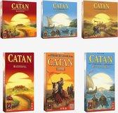 Catan mega pakket - Basisspel + Zeevaarders + Steden & Ridders + 3 uitbreidingen voor 5-6 personen