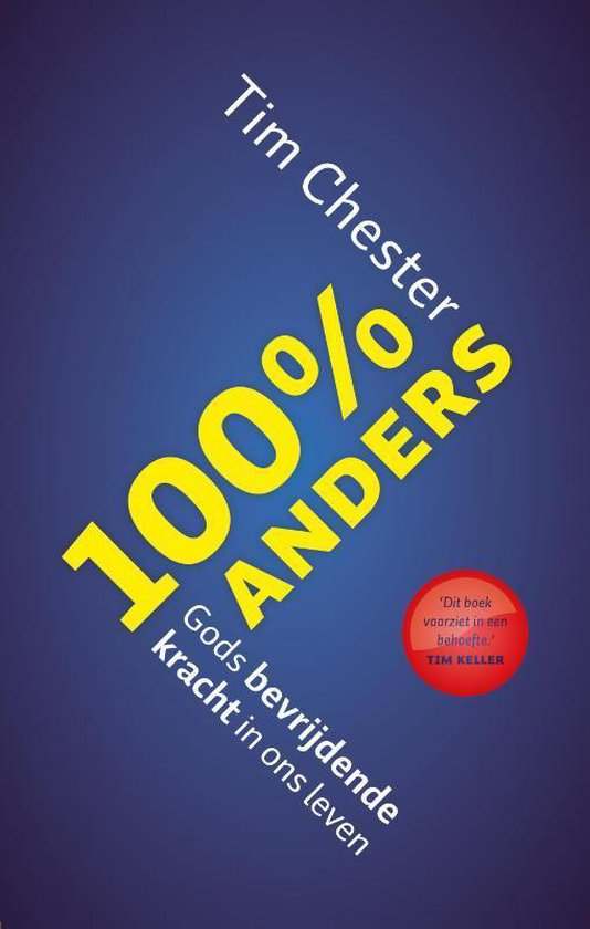 Cover van het boek '100% anders' van T. Chester