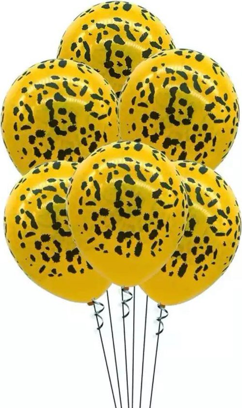 Panterprint / Luipaard ballonnen - feest - 50 stuks