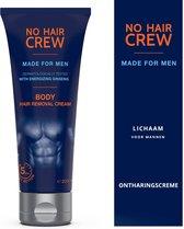 NO HAIR CREW - Ontharingscreme mannen - Lichaam - Men - Ontharing mannen