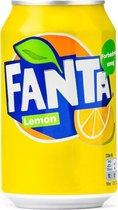 Fanta Lemon blik 24x33 cl