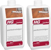 HG parketreiniger Dé fris ruikende parketreiniger voor parketvloeren - 2 Stuks !