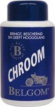 Belgom Chroom Polijstmiddel 250 ml - Chrome reiniger - Poetsmiddel Motor / Auto - Ontroester