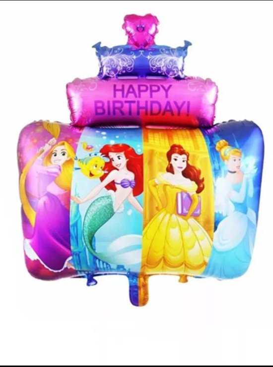 Grote Prinses Happy birthday. prinsessen Folie Ballon
