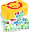 Fisher Price Leeuw Billendoekjes + Box