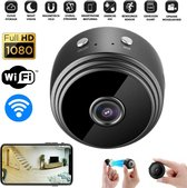 PIXMY® Smart Spy Camera 300mAh - Verborgen Camera - Mini Camera - Spy Cam - WiFi 1080 HD - Incl. SD kaart 128GB Adapter Kaartlezer -