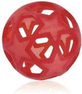Natuurrubberen hondenspeeltje - speelbal - Hevea puppy - honden speelgoed - bal - 10.5 diameter - sterren - voor de motoriek - niet giftig! - 100% natuurlijk -  natuurrubber - gezond voor uw hond
