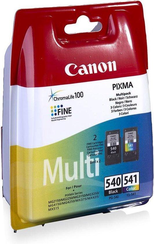 Canon PG-540/CL-541 - Inktcartridge / Zwart / Kleur
