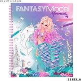 Topmodel Fantasy Model  Kleurboek -  Mermaid