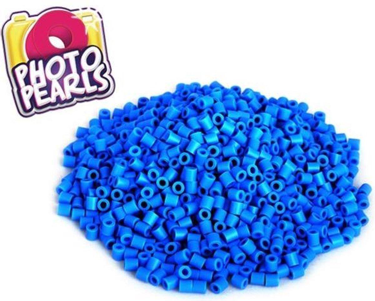 Blauw(no.17) - Strijkkralen - Kraaltjes - Photo Pearls - Knutselen - Kinderkraaltjes - Strijken - Kralen - Goliath - 1100 stuks