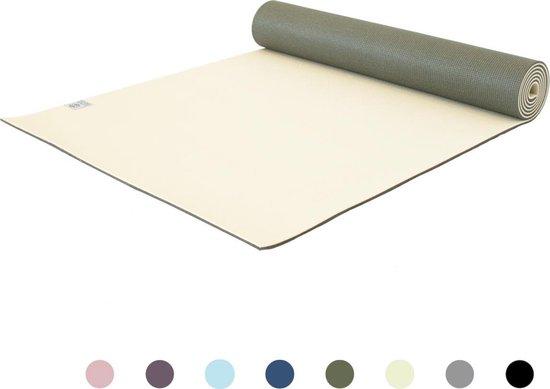 Love Generation ● Premium Yoga Mat ● 6mm dik ● Graceful Green