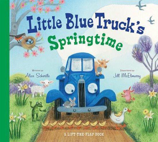 Boek cover Little Blue Trucks Springtime van Alice Schertle (Hardcover)