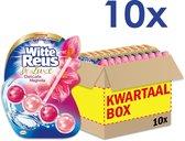 Witte Reus DeLuxe Toiletblok - Delicate Magnolia - WC Blokjes Voordeelverpakking - 10 Stuks