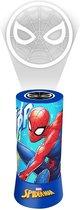 Marvel Nachtlamp Spiderman Jongens 9,5 X 19 Cm Rood/blauw