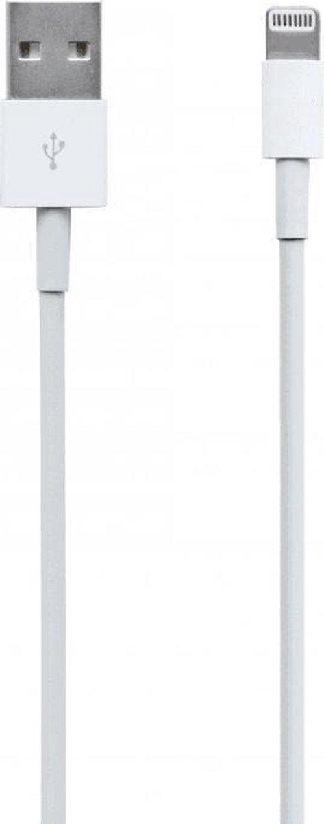 Apple USB kabel naar lightning - 1 meter op De Prijzenvolger