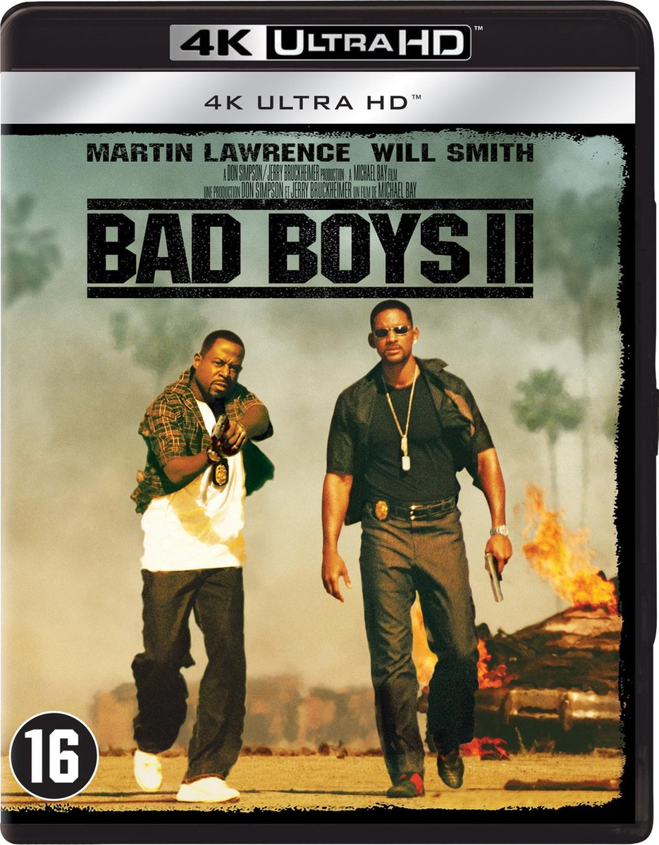 Bad Boys II (4K Ultra HD Blu-ray)-