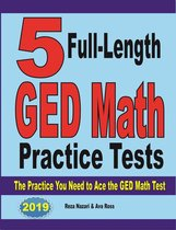 5 Full-Length GED Math Practice Tests