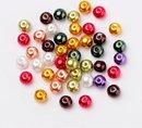 Glasparels in de schitterende kleuren 'Glansrijk mix', in de maten 4, 6 en 8mm (700 stuks !!)