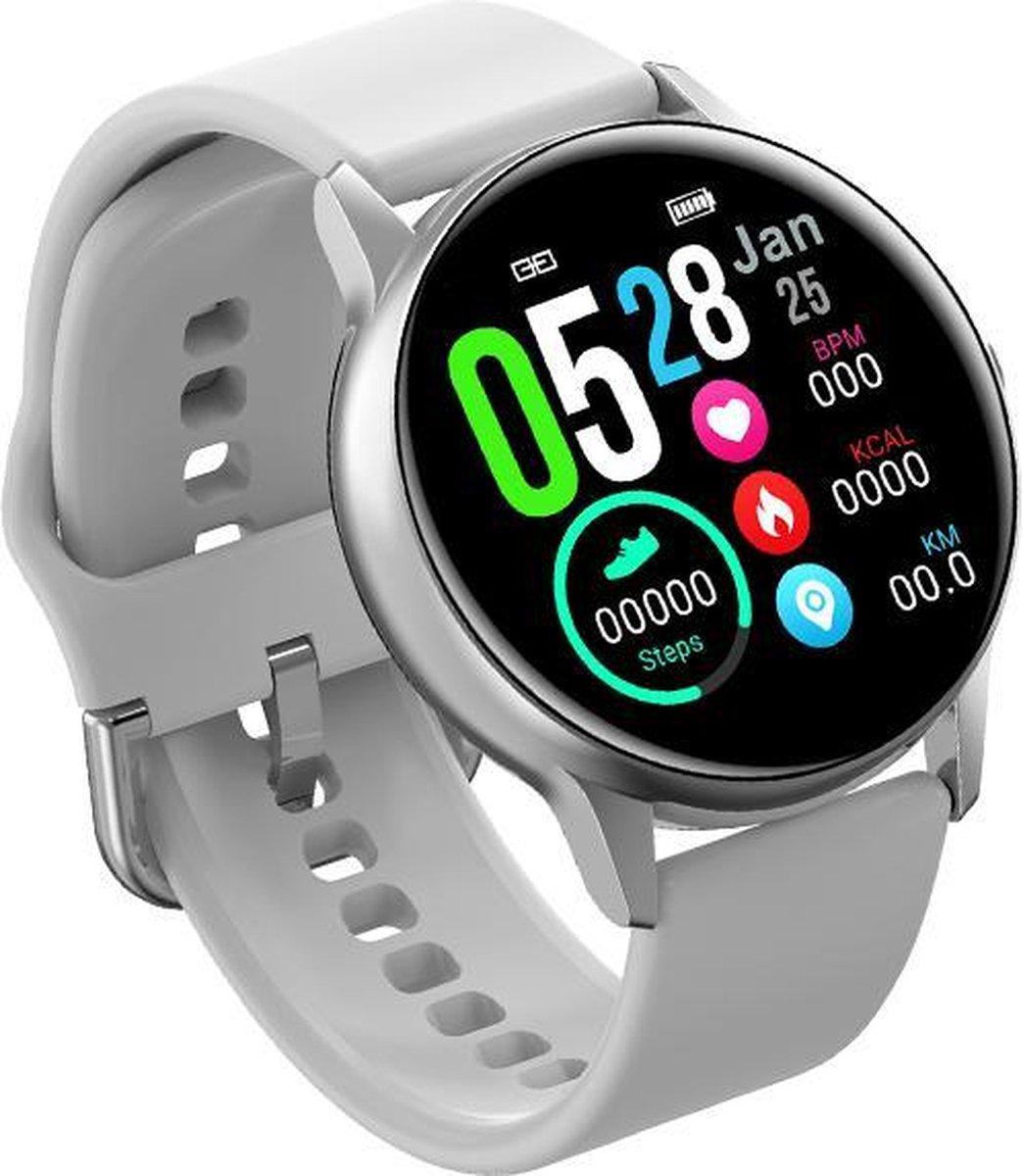 Belesy®  - BT158 - Smartwatch - Wit kopen