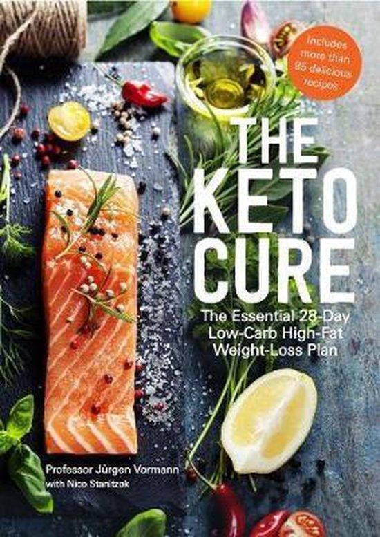 Boek cover The Keto Cure van Jurgen Vormann (Paperback)