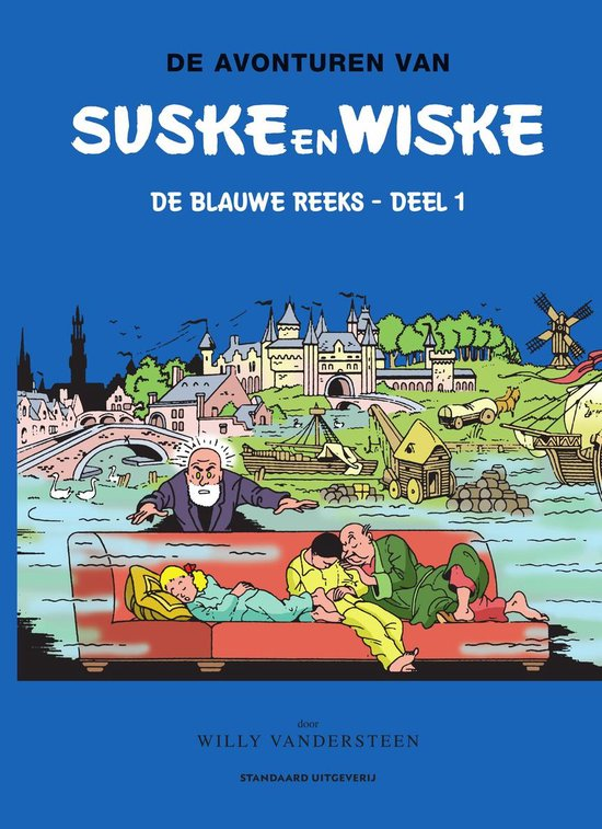 Afbeelding van Suske en Wiske klassiek Blauwe reeks 1 - De avonturen van Suske en Wiske