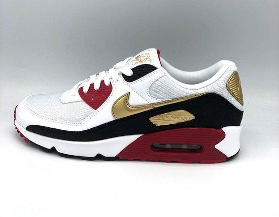 Nike Air 90 - White/Metallic Gold-White - Maat 42.5