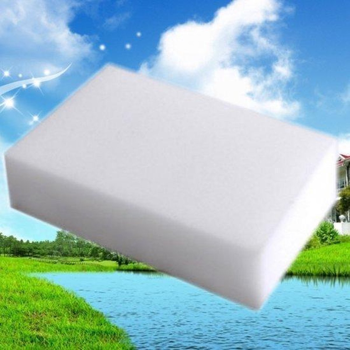 150x Wonderspons Schoonmaakspons - Melamine Spons - Magic Sponge kopen