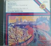 Prokofiev Symphony No.1- Bizet Symphony No. 1  -  Bernstein