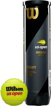 Wilson US Open Original - Tennisballen -  4 Stuks - Geel