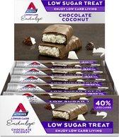 Atkins Endulge Low Sugar Maaltijdrepen - Chocolate Coconut - 14+1 stuks