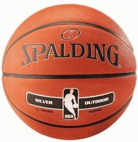 Spalding NBA Silver Indoor/Outdoor Basketbal sz 7