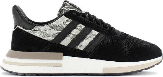 adidas Originals ZX 500 RM - Snake - Heren Sneakers Sportschoenen Casual schoenen Zwart BD7924 - Maat EU 44 UK 9.5