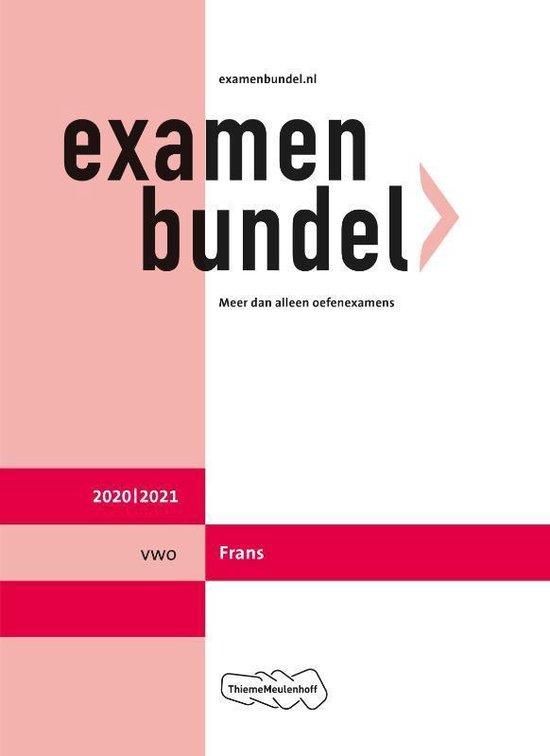 Examenbundel vwo Frans 2020/2021 - none   Readingchampions.org.uk